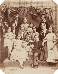 john b.& anna alexander and their ten children by richard dykes alexander
