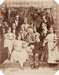 john b.& anna alexander and their ten children by richard dykes alexander