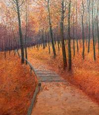 podzimní cesta by jaroslav simunek