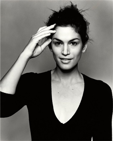 cindy crawford italian vogue london by michel comte