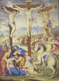 la crucifixion by giulio clovio