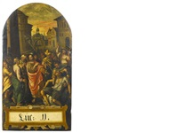 christ casting out a demon from a mute man by flemish school (16)