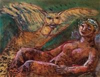 personaje y ave by luis alberto solari