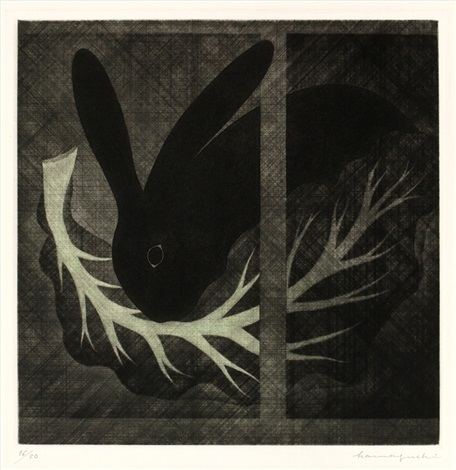 rabbit by yozo hamaguchi
