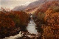 autumn day in glenlyon by david farquharson