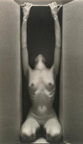 in box - vertical by ruth bernhard