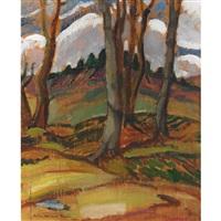 fall landscape by lilias torrance newton