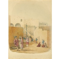 at bethlehem, near the greek convent of the nativity of christ by richard dadd