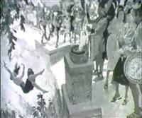 story illustration. virgin sacrifice by warren w. baumgartner