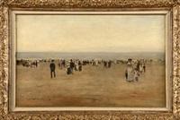 un dimanche à la plage by emile hoeterickx