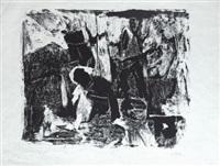 settima stanza o nero rovescio by afro