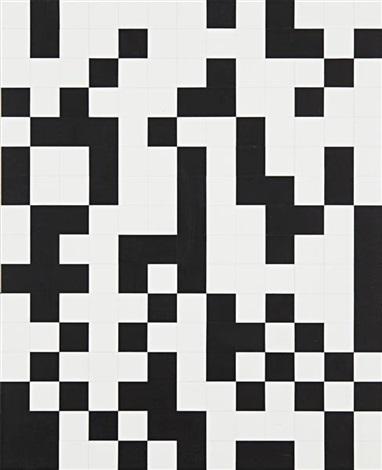 binary uppercase by tauba auerbach
