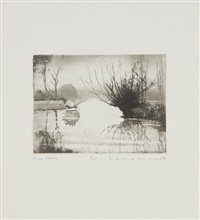windrush; the western shore & further travels with copper and zinc (3 portfolios; 40 works) by norman ackroyd