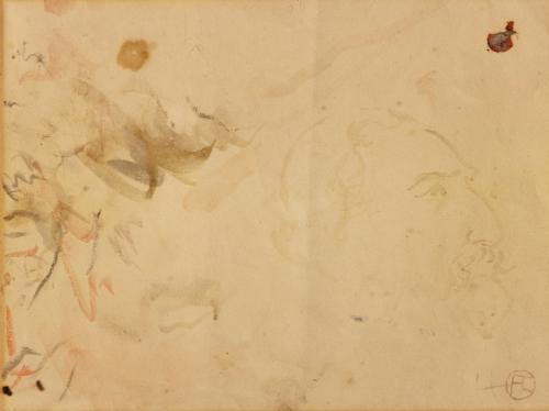 profil du comte de toulouse lautrec by henri de toulouse lautrec