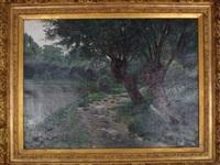 après la pluie by marie-victor-emile isenbart