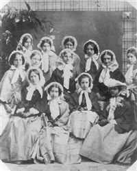 catherine smart, her sister eleza king and eleven pupils by richard dykes alexander