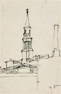 steeple, leeds by harold gilman