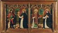 saint roch, saint nicolas and saint pierre martyr by french school (15)