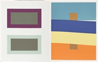 josef albers - interaction of color (80 works) by josef albers