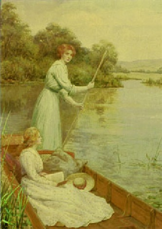 a river idyll by william f ashburner
