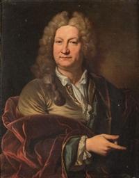 portrait d'honoré boyer, seigneur de fonscolombe by jean ranc