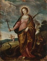 sainte marguerite by pieter lisaert