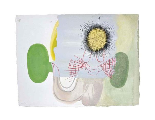 untitled (breast) by amy sillman
