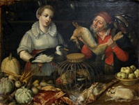 seller game by pieter aertsen