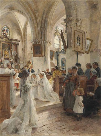 la confirmation by léon augustin lhermitte