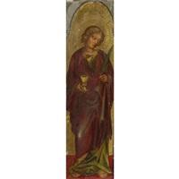 saint john the evangelist by francesco di gentile da fabriano