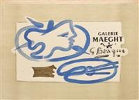 profil à la palette (galerie maeght) by georges braque