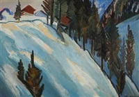 winterlandschaft by karl aegerter