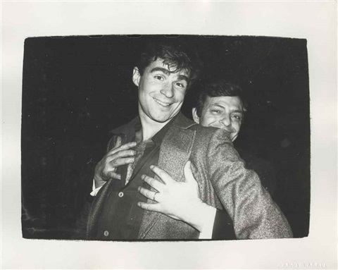 treat williams and friend by andy warhol