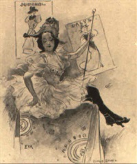seated woman by archie gunn