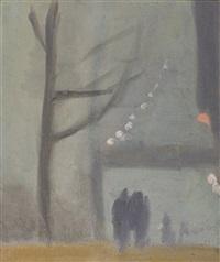 collins street by clarice marjoribanks beckett