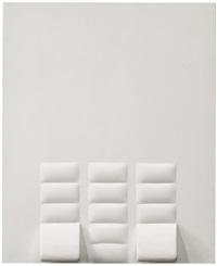oggetto bianco by agostino bonalumi