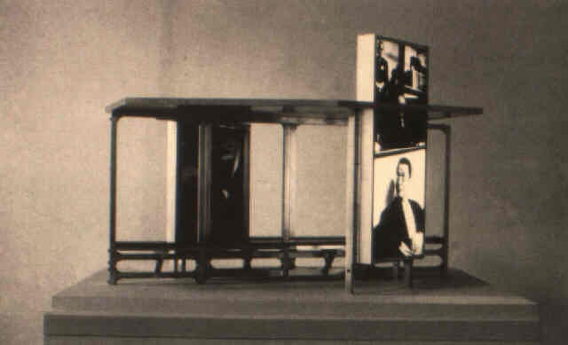maquette for bus shelter iv by dennis adams