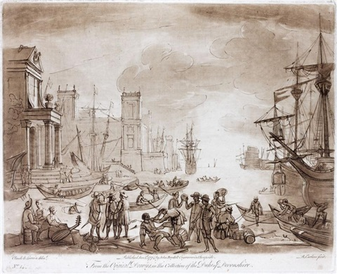 liber veritatis or a collection of two hundred prints after claude le lorrain 2 vol w200 works by richard earlom