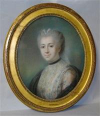 portrait de jeune femme by joseph boze