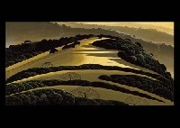 before the sun goes down ii by eyvind earle