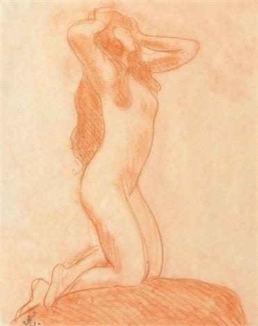 nue féminin by jean francis auburtin