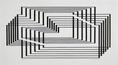 interim from graphic tectonics by josef albers