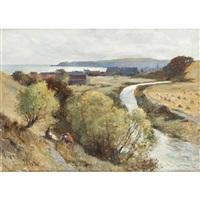picnic above stonehaven by archibald david reid