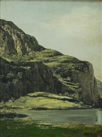 laghetto di montagna by pietro leidi