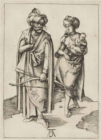 a turkish family by albrecht dürer
