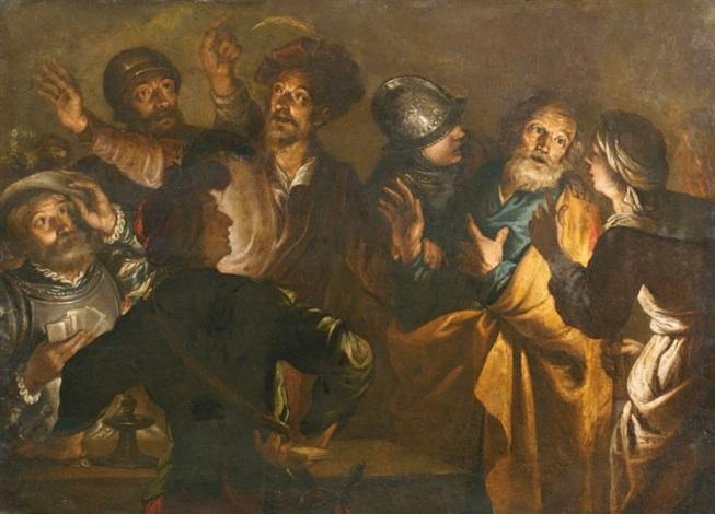 Jésus, le Christ - Page 4 G%C3%A9rard-seghers-le-reniement-de-saint-pierre