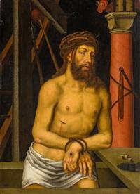 le christ en homme de douleurs by georg pencz