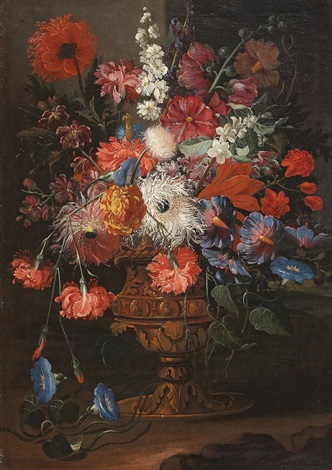 flower still life by abraham brueghel