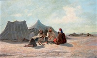 le campement by françois lauret