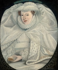 portrait of mary i, queen of scots by nicholas hilliard